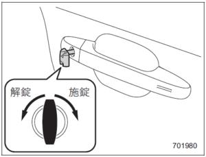 スバル スマートキーのリモコンロックの使い方とは?内蔵メカキーの使い方も一緒に!